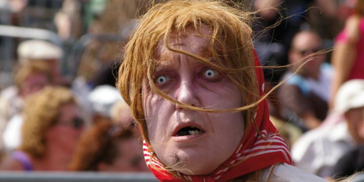 Al decennia lang leeft Beselare, de toveresseparochie in de ban van haar tweejaarlijkse Heksenstoet © Westtoer