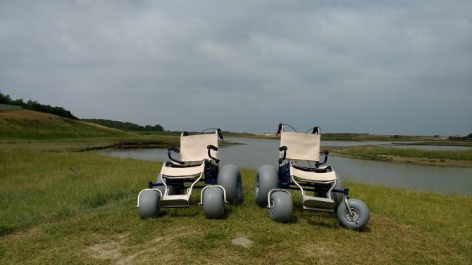 Ook toegankelijk voor rolstoelwagens @ Provincie West-Vlaanderen